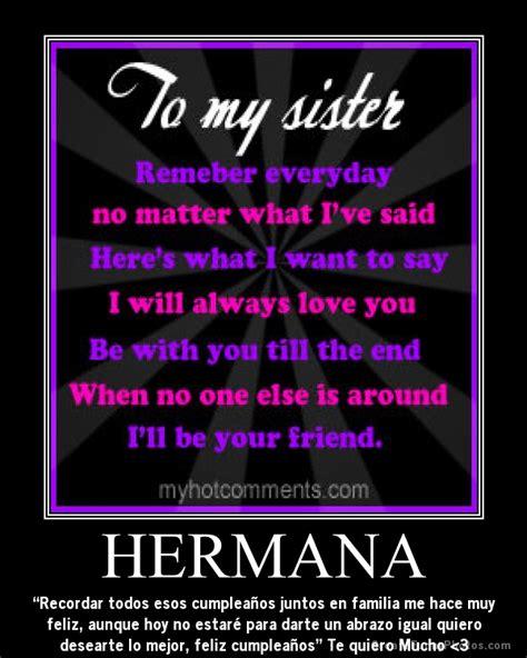 imagenes de feliz cumpleaños para una hermana para facebook feliz cumpleanos hermana quotes quotesgram
