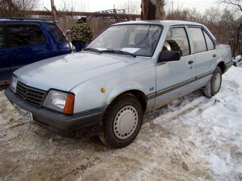 opel ascona 1982 opel ascona 1 6 fastback automatic related infomation