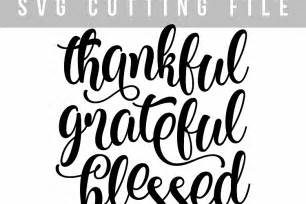 Card Making Machines - thankful grateful blessed svg png eps t design bundles