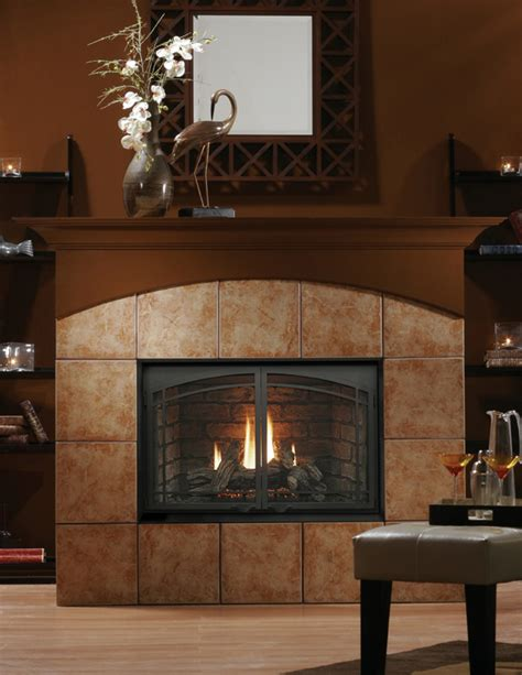 Direct Vent Wood Fireplace by Kingsman Hbzdv4228 Direct Vent Fireplace