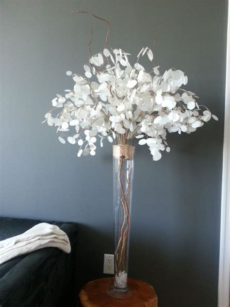 silver centerpiece ideas 1000 ideas about curly willow centerpieces on