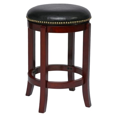 Cherry Swivel Counter Stools by Cordova 24 Quot Counter Stool Cherry Boraam Target