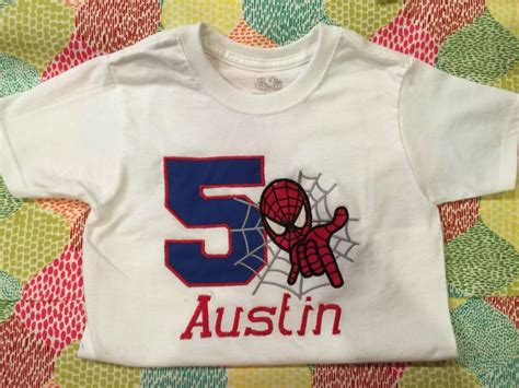 Spider Shirt Shirt For Birthday Birthday Shirt By Southernmonogramit On Etsy Projects To Try