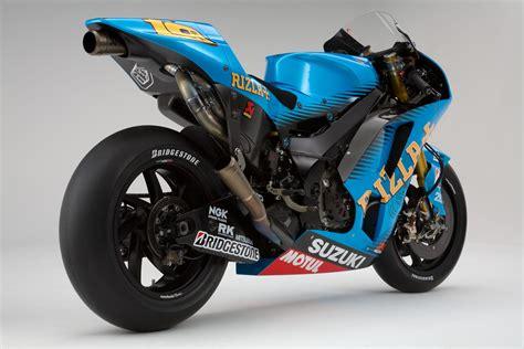 Suzuki Race 2011 Rizla Suzuki Gsv R Motogp Race Bike Unveiled