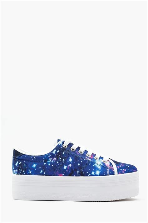Trend Platform Shoes Bglam by S Sneakers Zomg Platform Sneaker Cosmic