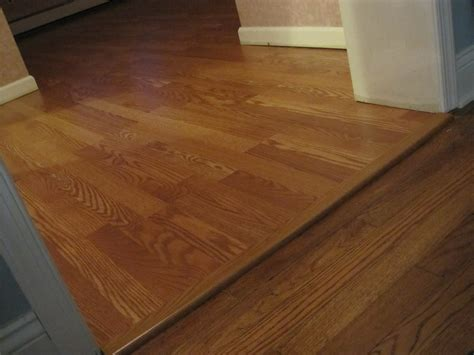 laminate flooring transition to vinyl home flooring and