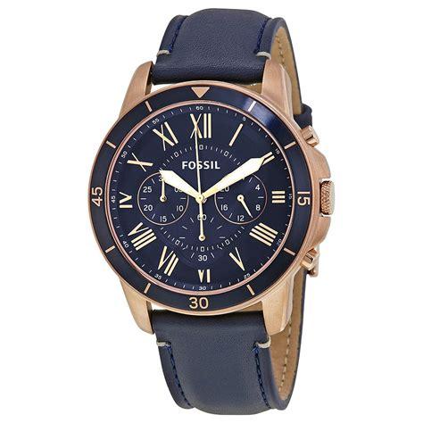 Fossil Fs 5000 Chronograph fossil grant sport blue s chronograph fs5237 grant fossil watches jomashop