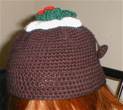pattern for christmas pudding hat christmas pudding hat crochet