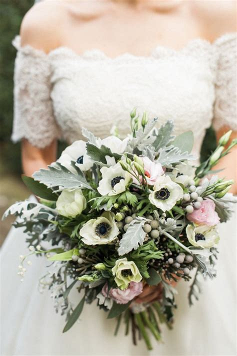 anemone english english cotswolds wedding anemone bouquet flower