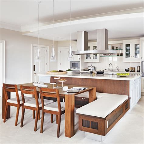 designing a kitchen island with seating kitchen table u shaped with island designs built in bench