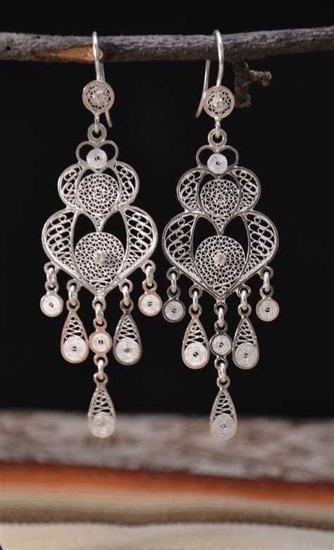 Handmade Filigree Jewelry - 194 best images about arracadas on sterling