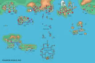 Map Of The Pokemon World by Pok 233 Mon World Maps Page 39 Bulbagarden Forums