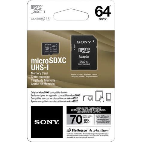 Micro Sd Sony sony microsd 64gb micro sd sdxc memoria c 10 xperia