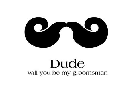 will you be my best card template will you be my groomsman chicago wedding