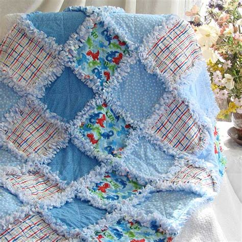 Rag Quilt Pattern Baby by Baby Quilts Baby Bedding And Room Decor