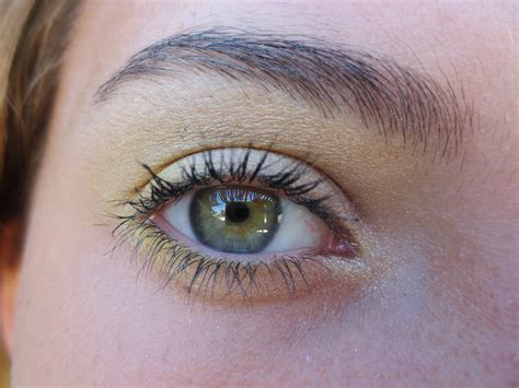gold eye color lotd funky colored makeup
