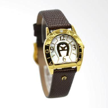 Jam Tangan Wanita Chopard Leather Coklat jual aigner a32202a asti due leather jam tangan wanita coklat ring gold harga