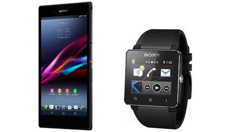 Smartwatch Sony Xperia sony xperia z1 z ultra and smartwatch 2 launch in the us intomobile