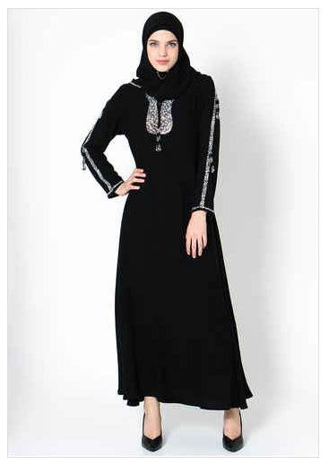 Abaya Renda contoh foto baju muslim modern terbaru 2016 contoh model