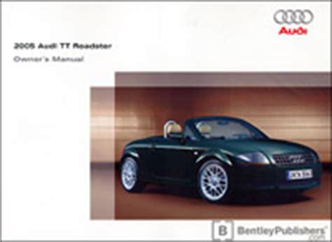 manual repair autos 2005 audi tt on board diagnostic system audi owner s manual tt roadster 2005 bentley publishers repair manuals and automotive books