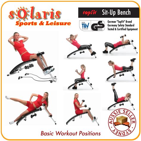 incline bench workouts topfit foldable incline sit up bench ab workout weight