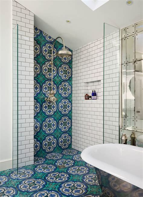colorful tiles for bathroom pretty asbestos tile removal with decorative tiles victorian single sink bathroom