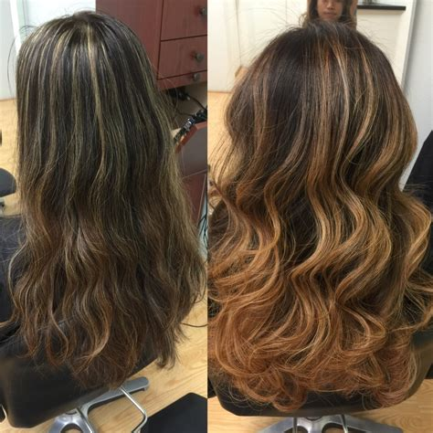 foil highlights for brown hair redlands hair stylist color correction foil highlighting