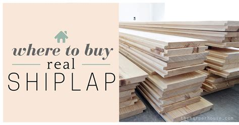 Shiplap Look Where To Buy Shiplap The House