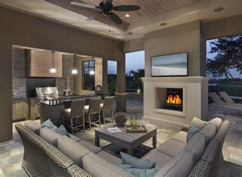 17 Brilliant Outdoor Living Room Design Ideas Style Backyard Living Room Ideas