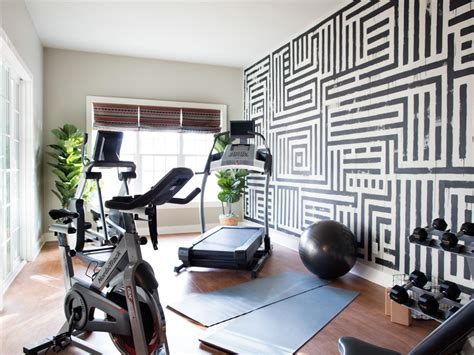 exercise bedroom 9 home gyms for fitness inspiration hgtv s decorating