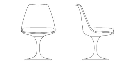 Tulip Chair Dimensions by Tulip Armless Chair Knoll
