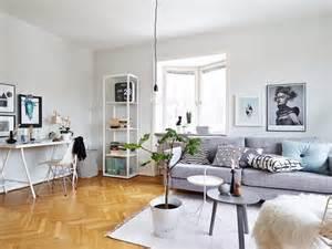 Nordic Grey Living Room Un Interior En Armon 237 A Gris Blanco Y Madera