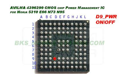 Ic Power Chip Ic Power Blackberry 9700 Tps65856 Blackberry Onyx nokia avilmas ic 4396299 picture gsm repairing solution