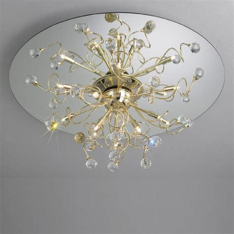 kolarz uk ltd polaris 1113 112 3 spt gold ceiling light