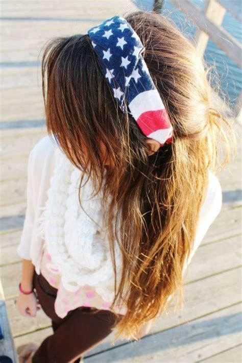 bandana headband hairstyles tumblr merica flag bandana headband hair pinterest bandana