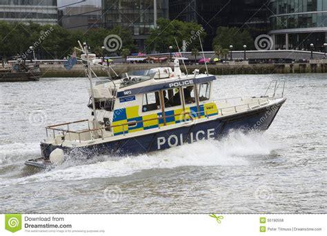 thames river marine forecast marine police on river thames london uk editorial stock