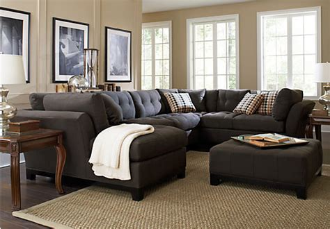 Rooms To Go Metropolis Sectional by Shop For A Metropolis Slate 4pc Sectional