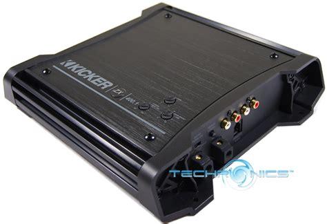 kicker zx400 1 new kicker zx400 1 car audio amp mono zx 400 amplifier