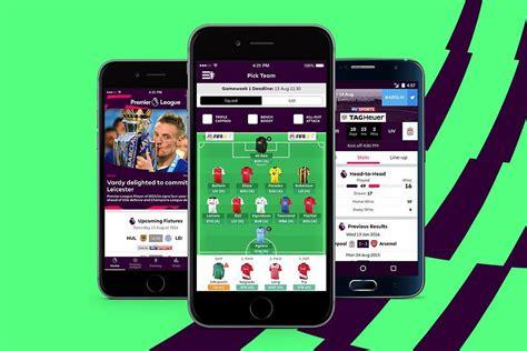 premier league mobile app introducing the official premier league app