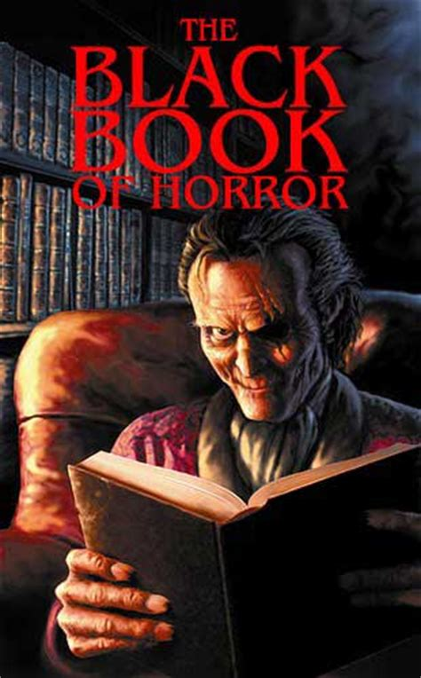 horror picture books book review the black book of horror hnn