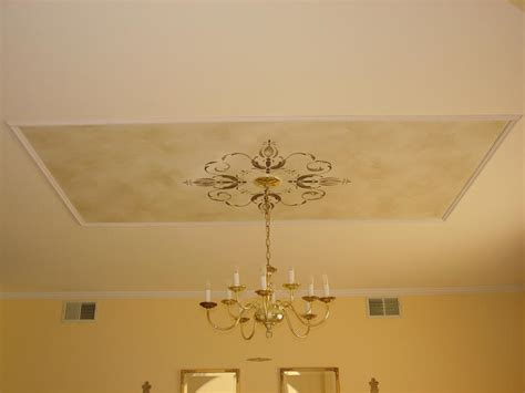 Ceiling Stencil by Surfaces With Paint Stenciling