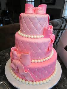 pink cakes for baby showers mymonicakes pink pearls baby shower cake