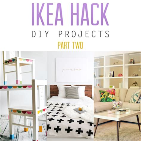 diy ikea hacks ikea hack diy projects part two the cottage market