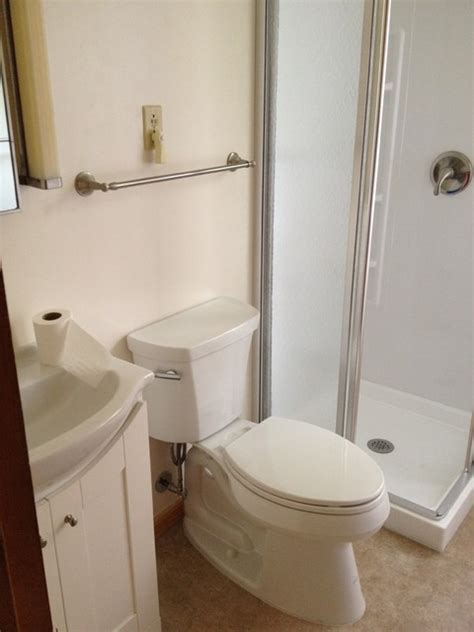 Sterling Bathroom Showers Sterling Corner Shower C Bathroom Holt Traditional Bathroom Other By Lowes Of Oswego Ny