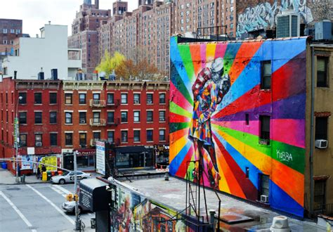 Sprei Bonita No 1 New Chelsea grafites postais mais vistos em berlim e york caia