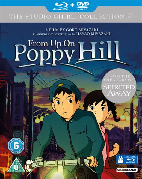 film ghibli blue ray from up on poppy hill double play blu ray and dvd blu
