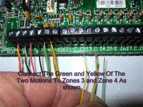 home alarm wiring part 2 wmv