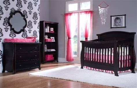 Baby Furniture by The Wall And Black And Pink For Mercedes Room As She