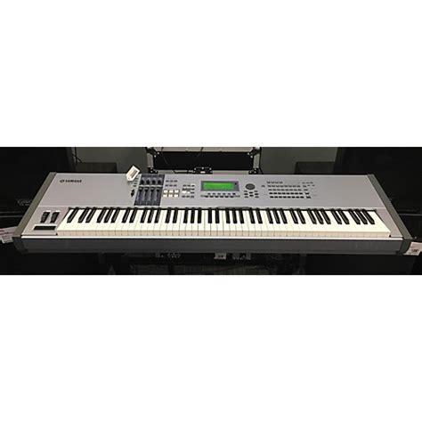Keyboard Yamaha Motif Es8 Used Yamaha Motif Es8 88 Key Keyboard Workstation Guitar Center