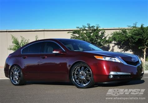 acura tl chrome wheels 2010 acura tl with 20 quot 2crave n01 in chrome wheels wheel